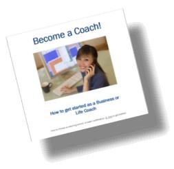 Become a Coach eBook