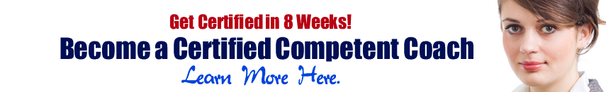 Become a Certified Competent Coach