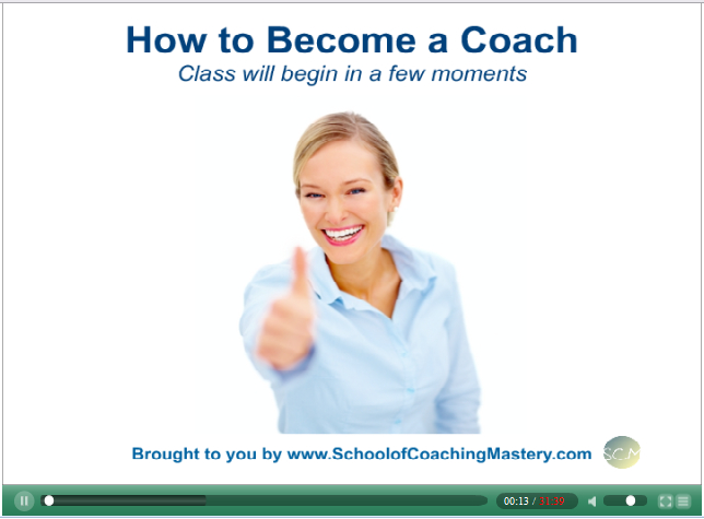 How to Become a Coach Video