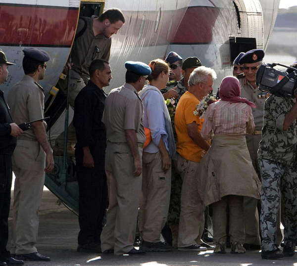 hostages freed by Mohammed Ghafari resized 600