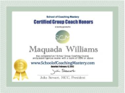 Certified Group Coach