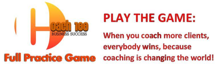 Coach 100 Full Practice Banner