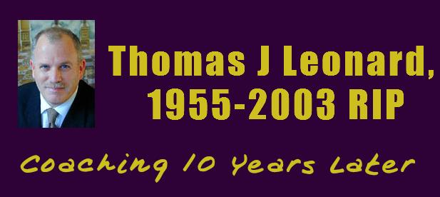 Thomas Leonard RIP