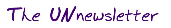 Coaching newsletter: UNnewsletter