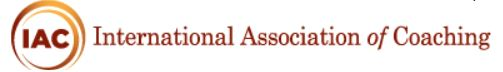 IAC International Association of Coaching