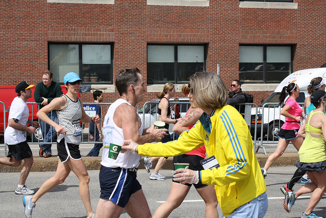 Boston Marathon by soniasu