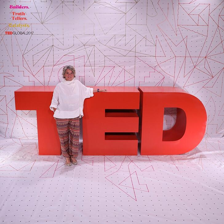 Positive Speech Coach, Valeria Pittaluga at TED