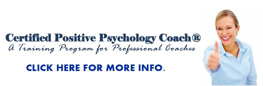 Certified Positive Psychology Coach
